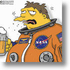 Space Beer Goes Up To Orbit, Goes Down Easy