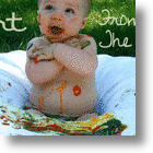 Organic, Vegetable Based Wee Can Too Finger Paints Make Creative Time Safe for Babies