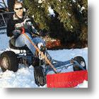 DIY Invention: Pedal Powered Snowplow