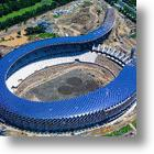 Solar Powered Stadium Complete and Ready To Power Itself In Time For World Games
