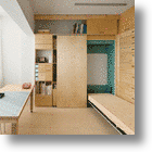 The Perfect Budget Solution: Tiny Artist Studio That Doubles Up As Living Space