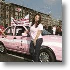 Women-Only Pink Taxis Make Travel In Puebla A Shade More Pleasant