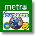 Legacy Newspapers + Foursquare = Location-Based News