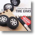 Tire Eraser Lets You Burn Rubber Without Burning Up Your Homework