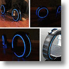 Light Up Your Wheels With The Tron Skatecycle