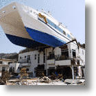 Stranded Japanese Sightseeing Boat Rejected as Tsunami Memorial