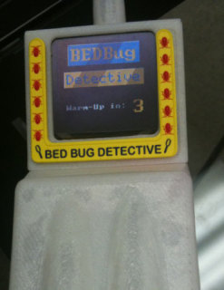 Prototype of the Bedbug Detective: © Chris Goggin