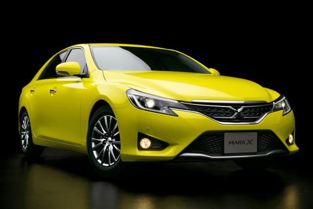 new toyota mark x yellow label a better brighter camry. Black Bedroom Furniture Sets. Home Design Ideas