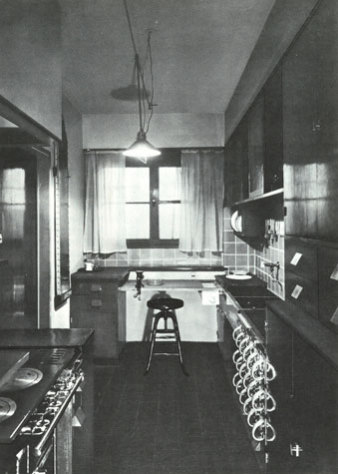 Archival photo of the Frankfort Kitchen: image via MOMA.org