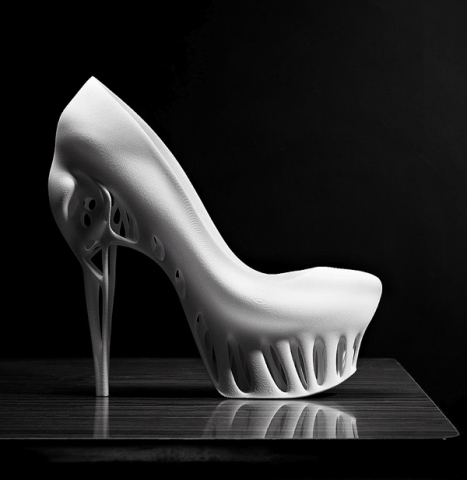 Bird Skull Shoe: by Marieka Ratsma and Kostico Spaho