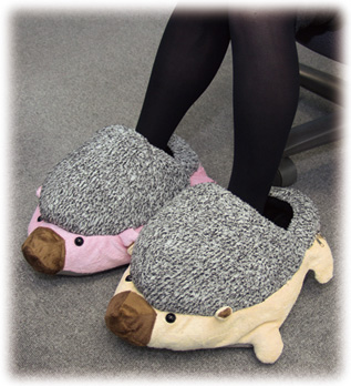 update the hedge hog heated slippers are now available in the us on