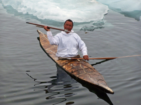 Traditional Inuit Kayak
