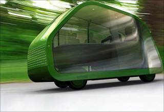 Concept autonomous car: slighly lame.