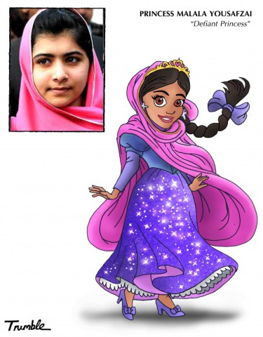 Princess Malala Yousefzai (Image by David Trumble, (c)2013, used by permission)