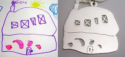 Children's Drawings Turn to Fashion