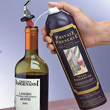 Private Preserve Wine Preservation System