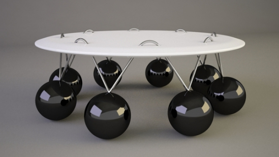 Pendulum Coffee Table by Svilen Gamolov: © Svilen Gamolov