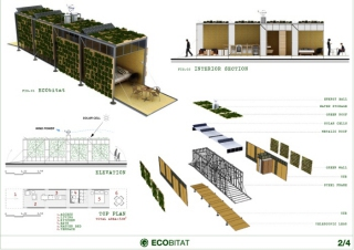 The details: serious eco-habitation in the works.
