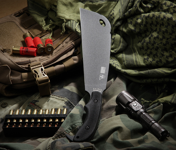 Ka-Bar Zombie Chomper Knife