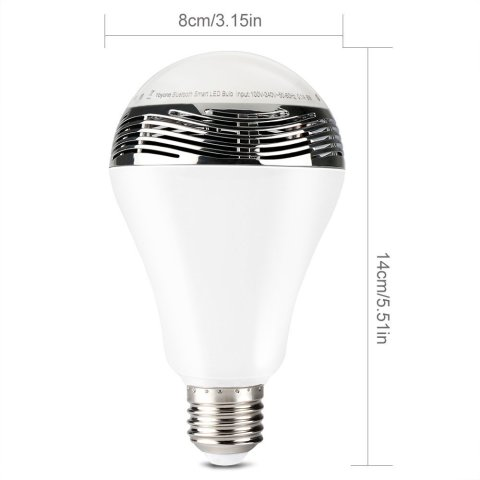The size of the 1byOne is similar to that of a traditional bulb