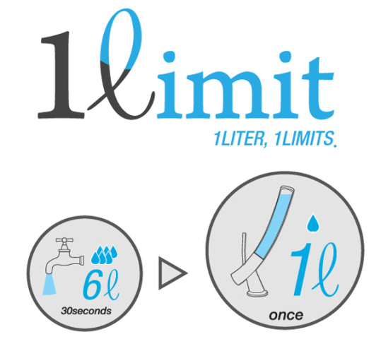 1ℓimit (One Liter Limit) ad: image via yankodesign.com