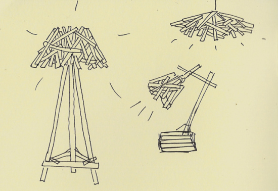 Concept sketches for the SMP family of lamps: © Sergio Mendoza