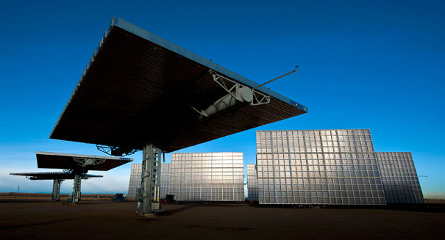 The Ammonix 7700 CPV Solar Power Generator: Image via NREL.gov