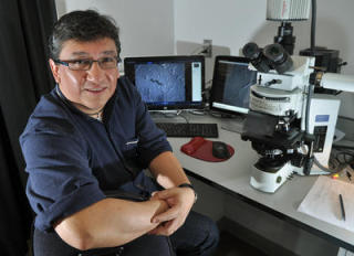 Silvestre Alavez, the instigator of the ThT research: IJphoto/Robert Tong via mercurynews.com
