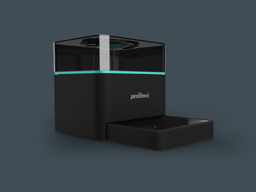 Pintofeed's sleek design: image via indiegogo.com