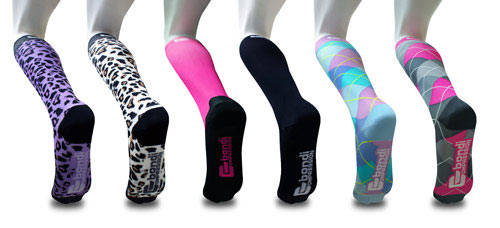 Bondi Band Compression Socks: image via bondiband.com