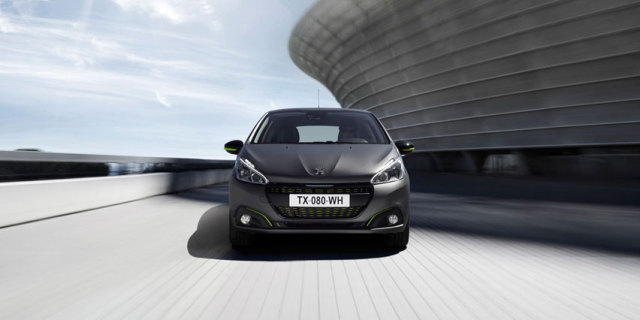 textured paint to debut on the new peugeot 208. Black Bedroom Furniture Sets. Home Design Ideas