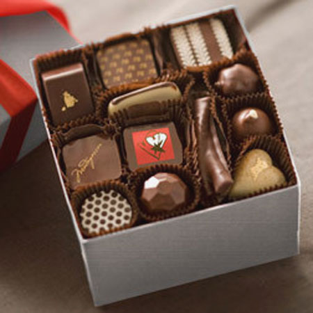 Recchiuti Confections Large Valentine Box: © Recchiuti Confections