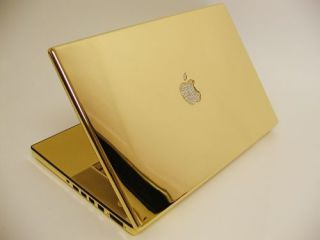 Gold MacBook with diamonds: Seriously?
