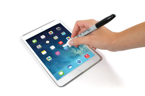Touch Point Stylus on your iPad: image via suck.uk.com