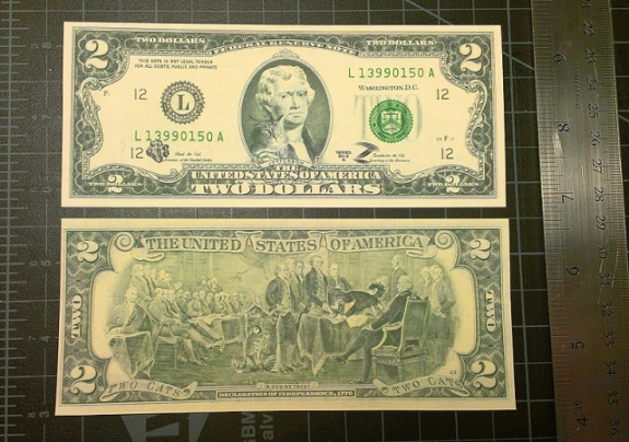 Zarathustra & Hank's Two Dollar Bill: image via fatcat.ru