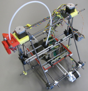The second place winner earns a RepRap Prusa Mendel 3D printer kit