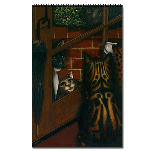 Cat Paintings by Carol Wilson 2011 Cat Wall Calendar:  Carol Wilson