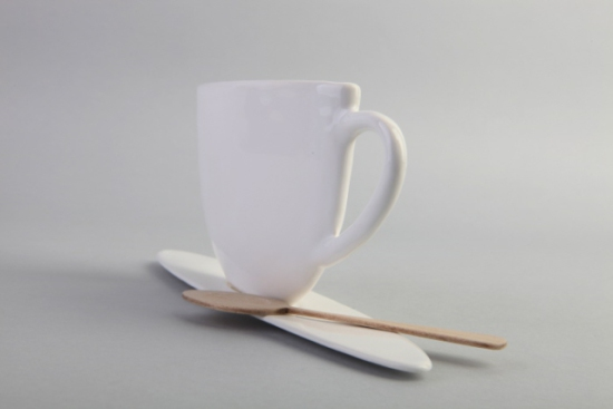 True shape of the Slim Cup: designed by Sharona Merlin