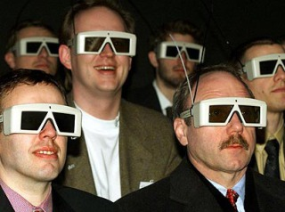 3D Glasses. Always stylish.