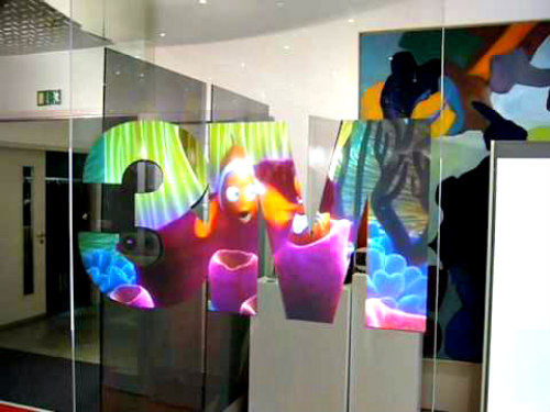3M's Vikuiti Rear Projection Film: Turn almost any smooth, transparent surface into an HD TV display