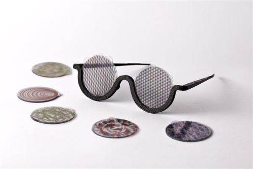 Lenses for Mood Sunglasses: Source: 3-Ders