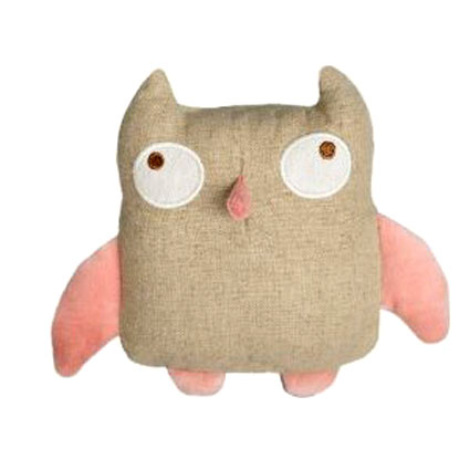 Simply Fido&#039;s Organic Plush Hemp Ollie Owl Dog Toy