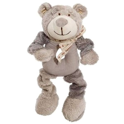 Simply Fido Organic Plush Ring Wally Bear