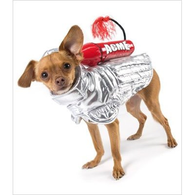"""To the moon, Alice, to the moon!"": Rocket Space Dog Costume"