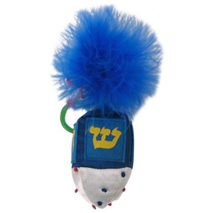 Hanukah Tickle Your Fancy Catnip Dreidel