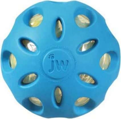JW Pet Crackle Heads Crackle Ball Toy