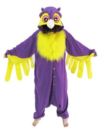 Purple Owl Costume