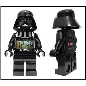 Lego Vader: cute and alarming.