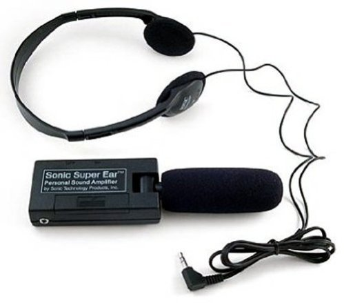 SuperEar Personal Sound Amplifier Listening Device