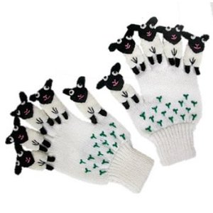 Adoable Lamb Gloves